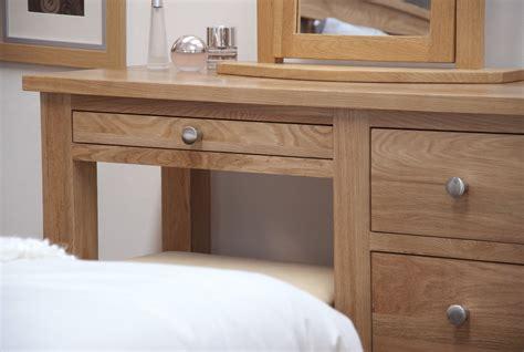 rivermead solid modern oak bedroom furniture dressing kingston solid modern oak bedroom furniture dressing table