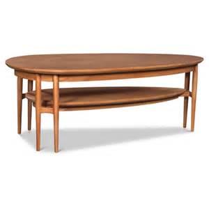 modern danish oval coffee table zizo