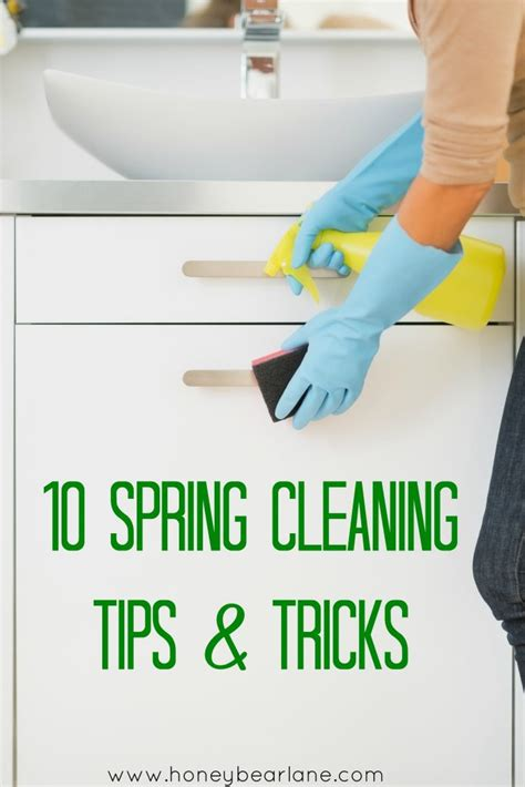spring cleaning tips and tricks 10 spring cleaning tips and tricks honeybear lane