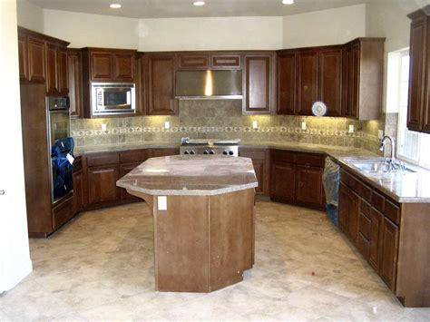 U Shaped Kitchen Island by Small U Shaped Kitchen Ideas Designs Cabinets With