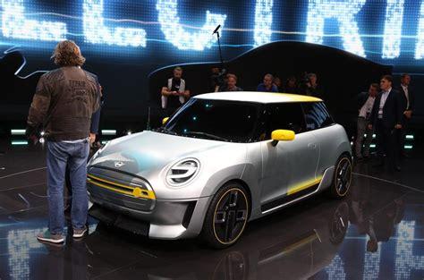 mini electric motor 2017 frankfurt motor show report and gallery autocar