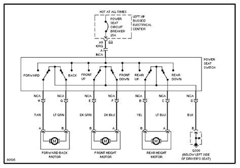 wiring diagram 6 way power seat repair wiring scheme