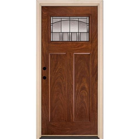 Feather River Doors 35 5 In X 81 625 In Horizon Patina Feather River Exterior Doors