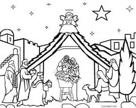 coloring page nativity scene gallery