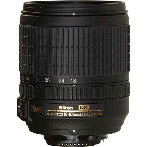 Lensa Nikkor 18 105mm F 3 5 5 6 Vr Buy Nikon Nikkor Af S 18 105mm F 3 5 5 6g Dx Ed Vr With Lens At Best Price In