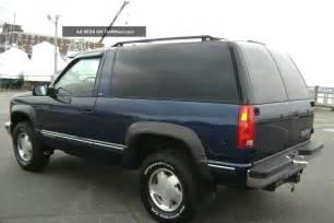 Chevrolet Tahoe 2 Door 1999 Chevy Chevrolet Tahoe Ls 2 Door V8 Auto 4x4