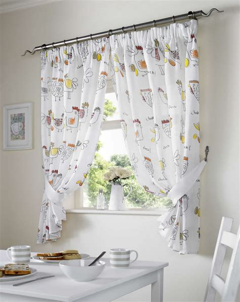 kitchen curtains ebay chickens kitchen curtains ready made pairs dining room