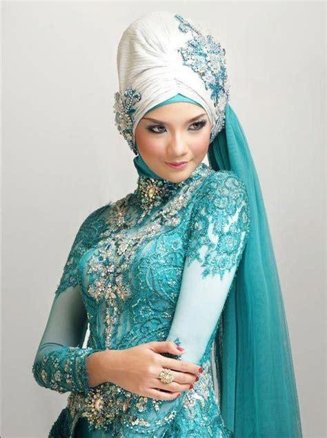 tutorial rias pengantin muslim modern contoh model hijab modern untuk pengantin muslimah
