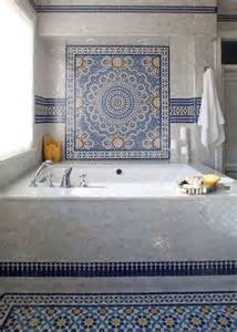 moroccan tile bathroom 30 moroccan inspired tiles looks for your interior digsdigs