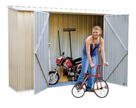 storage solutions  bikes   kinds cheap sheds blog