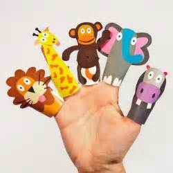 paper finger puppets templates jungle animals paper finger puppets printable pdf