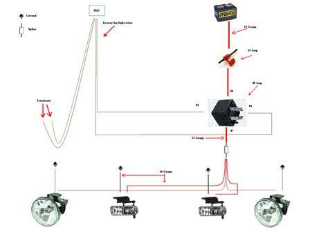 95 dodge ram fog light wiring diagram get free image