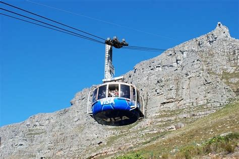 cable car table mountain road trip through south