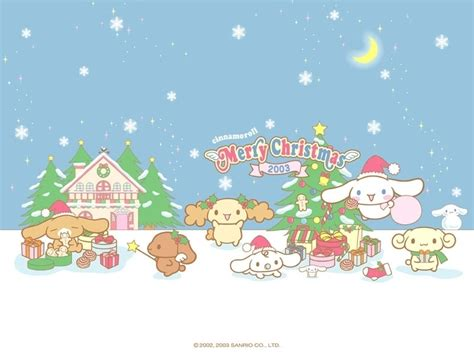 wallpaper christmas sanrio cinnamoroll images cinnamoroll christmas small wallpaper