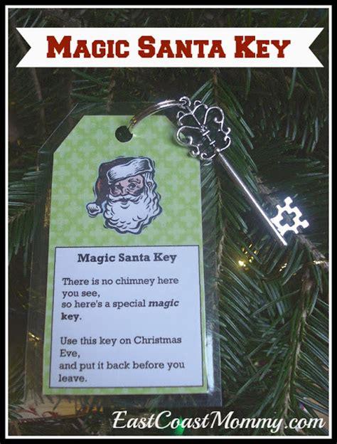 printable christmas key east coast mommy magic santa key with free printable