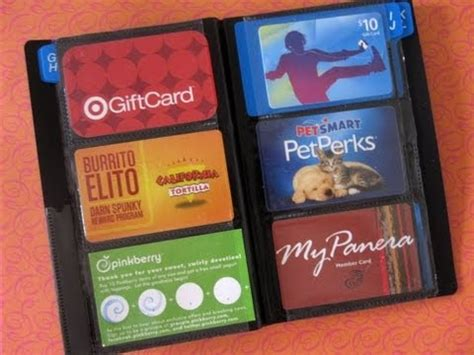 Visa Card Gift - video how to organize your wallet credit cards gift cards