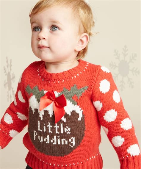 waitrose child christmas jumper pudding jumper jumpers jumper and baby knitting