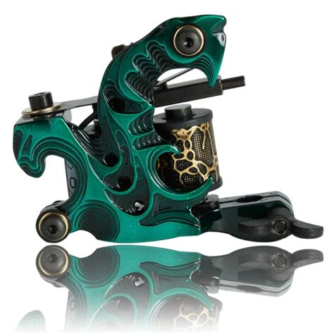 coils tattoo machine liner tattoo gun shader aluminium 10 wrap coils aluminum alloy liner shader tattoo machine