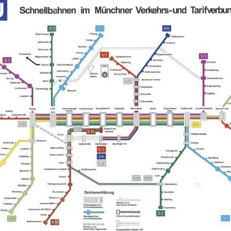 Englischer Garten München Anfahrt U Bahn by Metro Map Of Ocak 2016