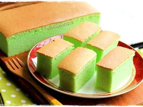 Ogura Pandan resep ogura cake pandan soft moist recomended oleh