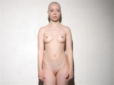 Shaved Head Nakedgirl Naked And Tied