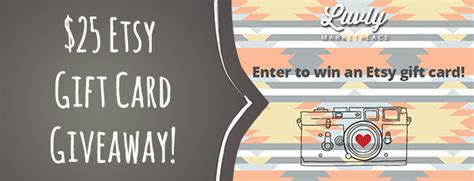 Etsy Gift Card Giveaway - luvly 25 etsy gift card giveaway starsunflower studio blog