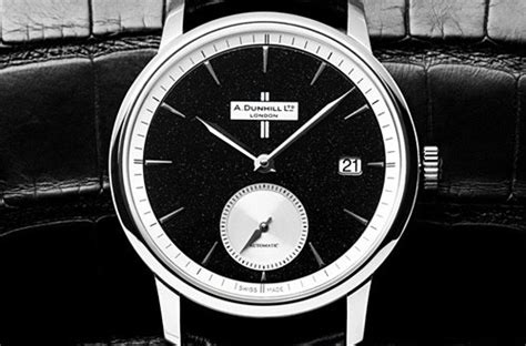 alfred dunhill classic crushed black