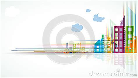 city landscape real estate background banner stock photo