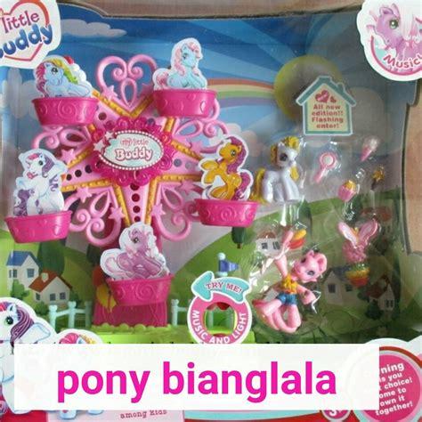 Promo Ferris Whell Mainan Musik Bayi 1 jual pony mainan kincir bianglala my pony