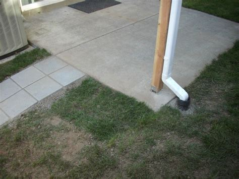 Patio Cover French Drain And Pavers Deck Masters Llc Paver Patio Drainage