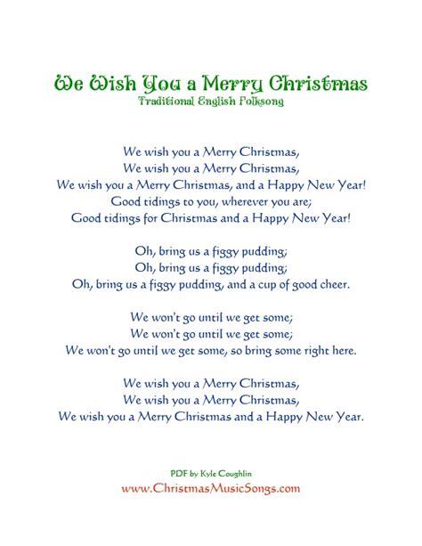 merry testo italiano we wish you a merry lyrics photozzle