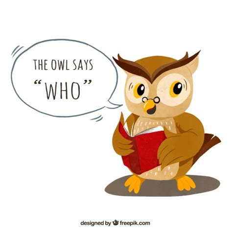 libro the owl who was owl background reading a book vector free download
