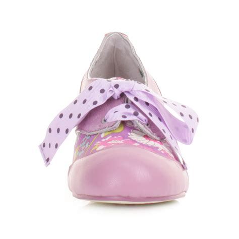lilac shoes womens poetic licence my words lilac lace up