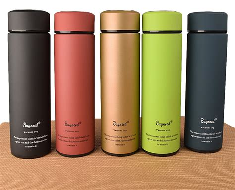 coolest travel mugs black amazon com buyneed leak proof coffee thermos vacuum