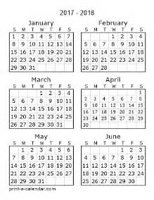 Six Month Calendar Template by 6 Month Calendars Per Page 2016 Calendar Template 2016