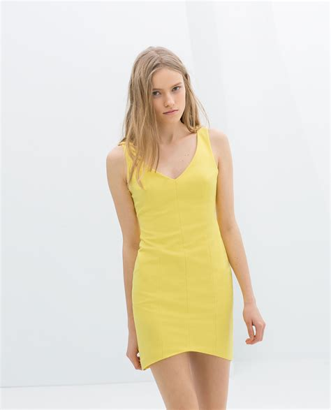 Jual Zara Dress zara basic yellow dress dress uk