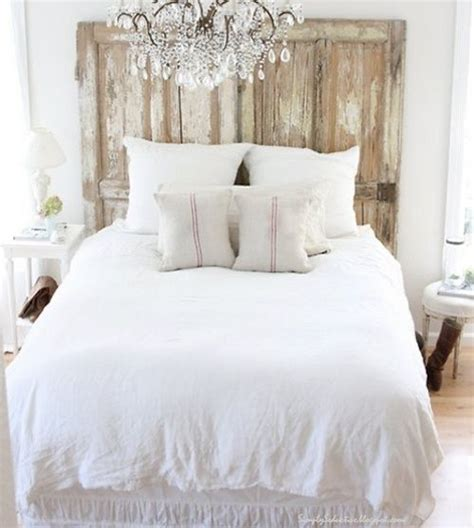 Salvaged Doors Headboard For The Home Pinterest