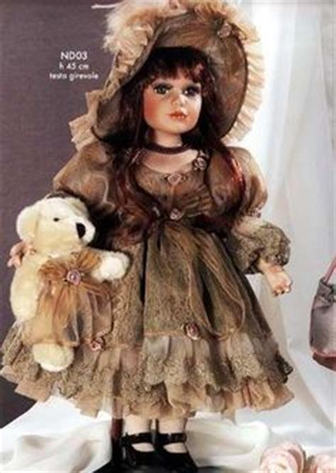 carol b porcelain dolls the porcelain doll with teddy is a collectible