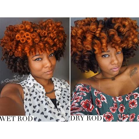 perm left to dry naturally on medium to long hair perm rod set on wet vs dry natural hair see this instagram