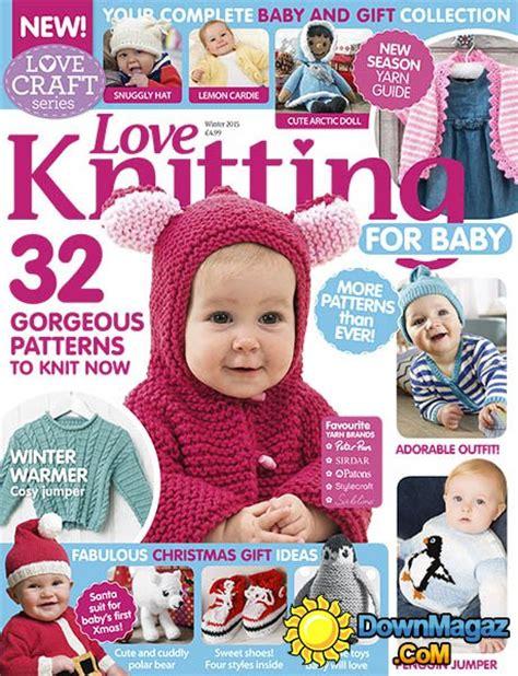 baby knitting magazine knitting for baby uk winter 2015 187 pdf