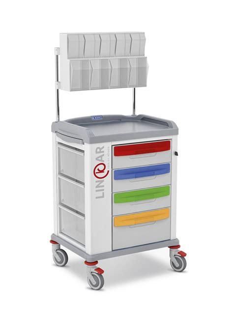 carrello con cassetti carrelli pediatrici con cassetti a ribalta malvestio