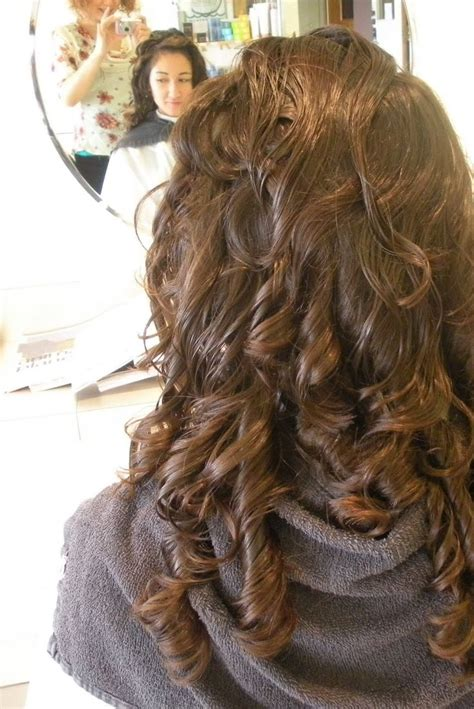 how to perm long thick hair 25 best ideas about big curl perm on pinterest curling