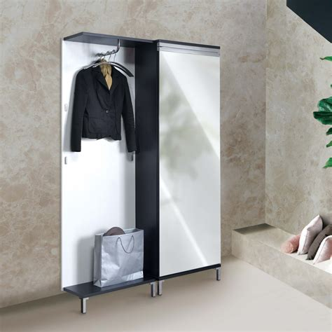 accessori guardaroba specchiera guardaroba da ingresso toledo arredaclick