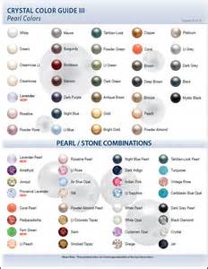 pearl color meaning color charts eureka