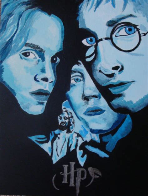 harry potter painting harry potter poster paintings amazing work