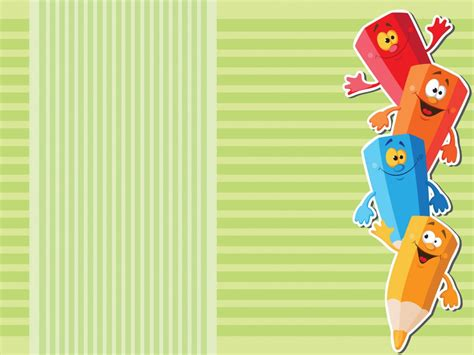 Educational Backgrounds Clipart Best by Colored School Pencils For Children Backgrounds