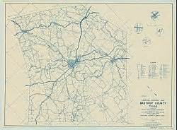 bastrop county historical county map 1936