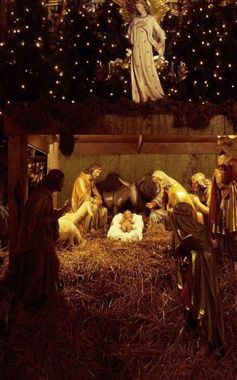 christmas jesus nursery decorations   ultra hd mobile wallpaper