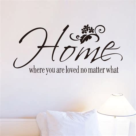 home decor quotes aliexpress buy free shipping wall decals quotes