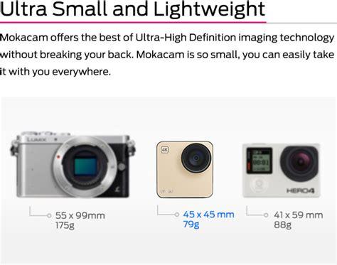 Tongsis Buat Kamera Belakang mokacam kamera 4k paling kecil mang gadget